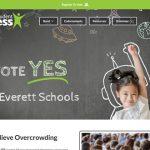 Election & Donation WordPress website