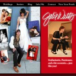 Photography Web Design - Version 3 of Julie Watts Photo Website
