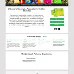 Web Design for version 2 of WACF website
