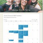Calendar funtionality