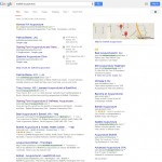 First page on Google SEO results with a web design custom