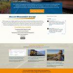 Full web design screen