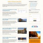 Company Blog design