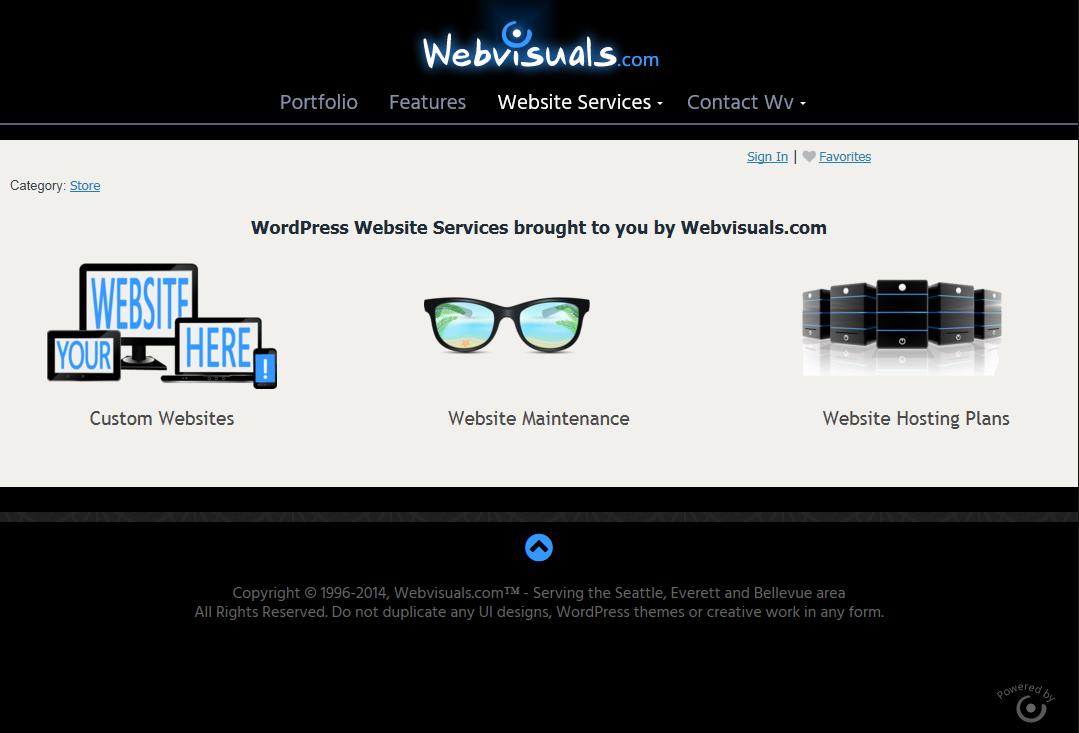 Custom Web Design & Development of WordPress Websites